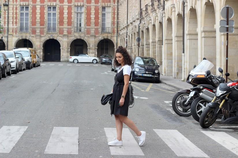 blog mode paris street look place des vosges