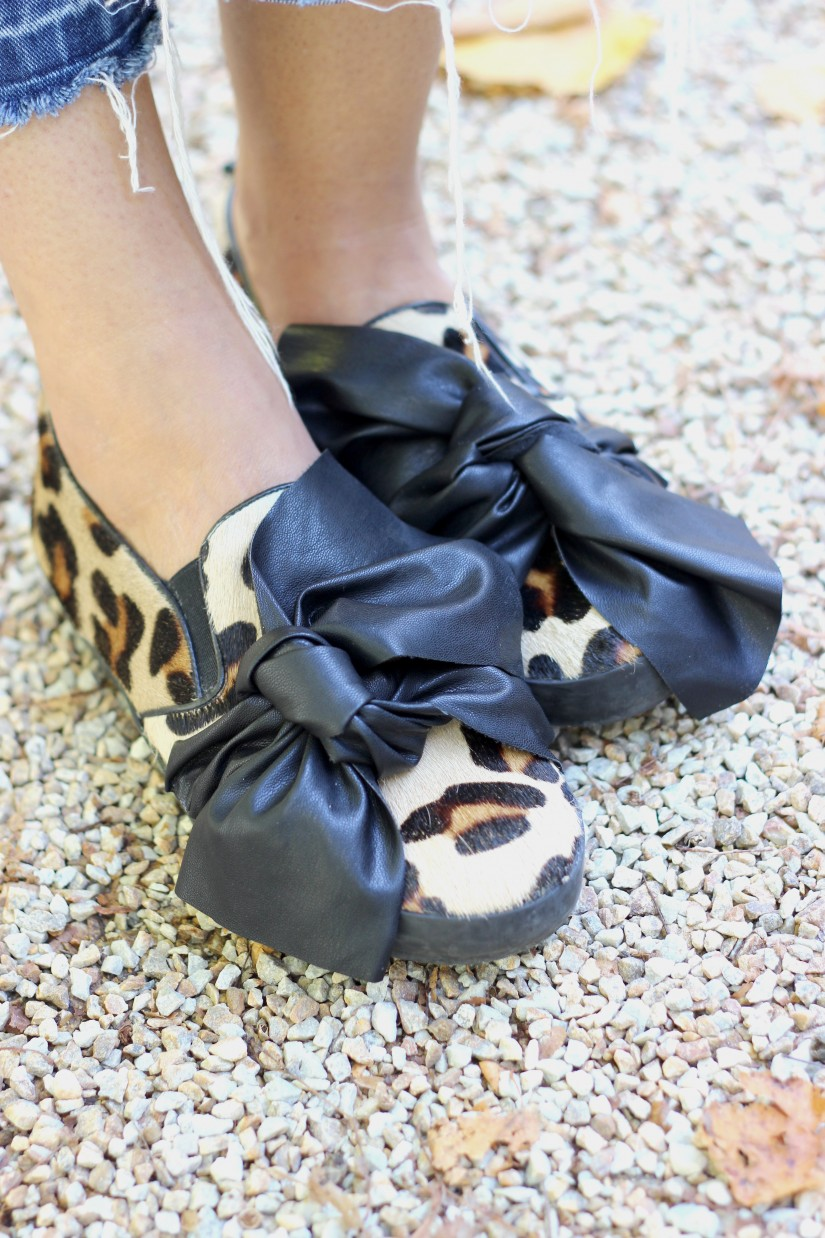 bow shoes diy