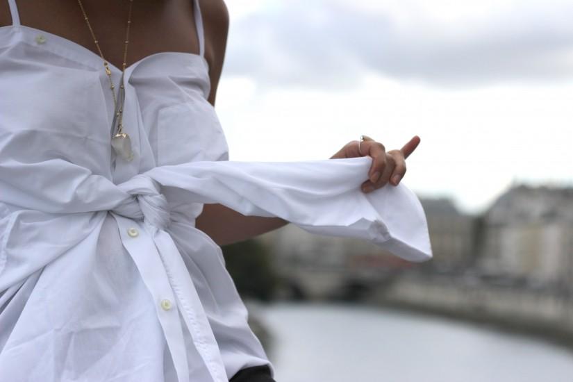 ceinture manche chemise
