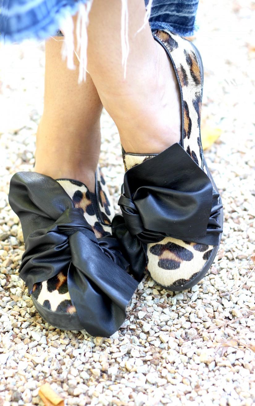 chaussure noeud xxl diy