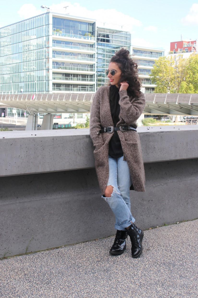 gilet manteau