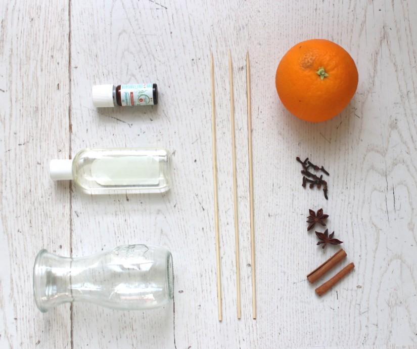 materiel pour creer un parfum d ambiance diy
