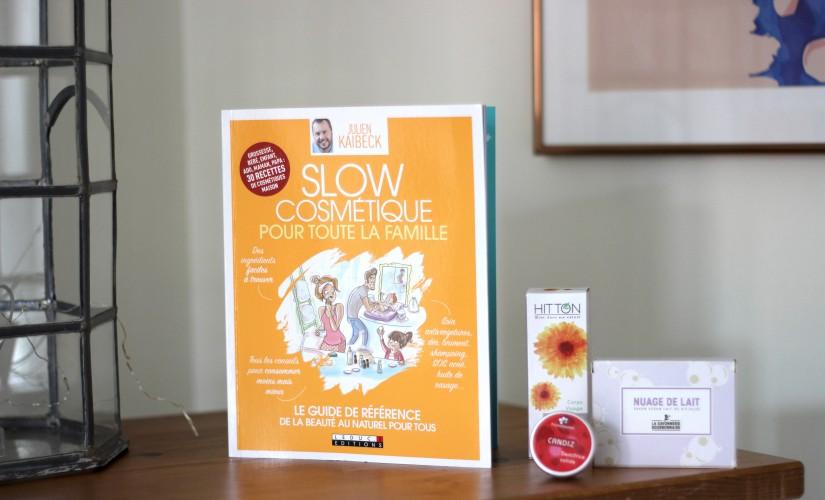 slow cosmetique livre