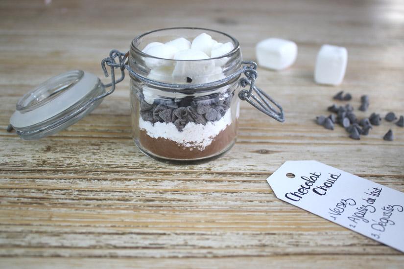 preparation pour chocolat chaud maison