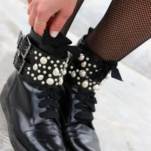 DIY : Les boots version perles