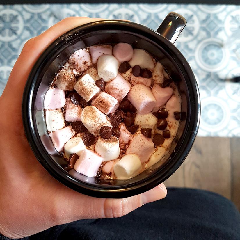 chocolat chaud guimauve