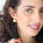 DIY : Les boucles d'oreilles Pompon
