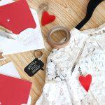 DIY : La broche cœur à glisser dans son faire-part