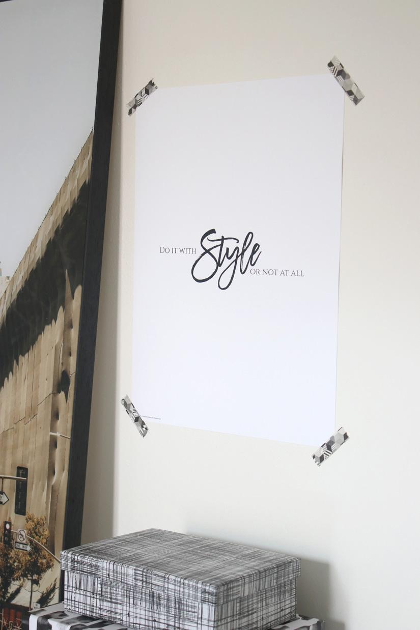impression pour mur de cadre poster lounge