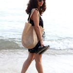 DIY  : Le sac rond en jute