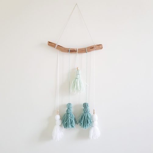 DIY : Suspension pompons