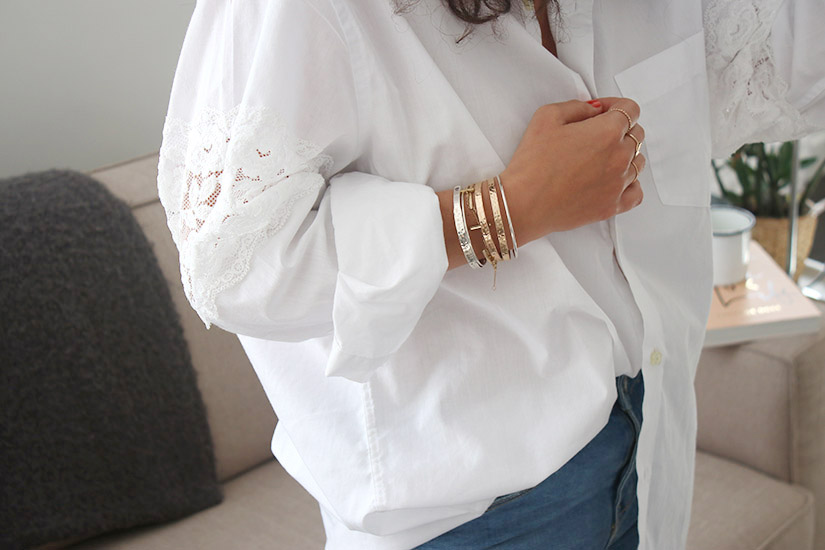 white lace shirt copie
