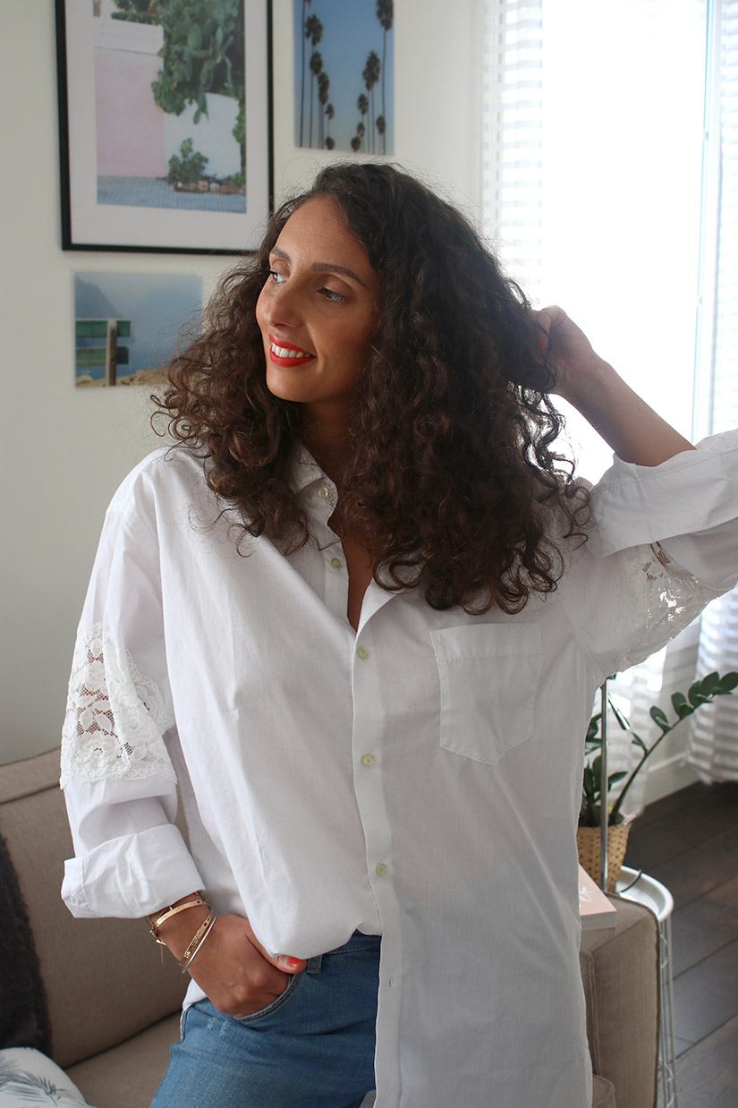 white shirt dut