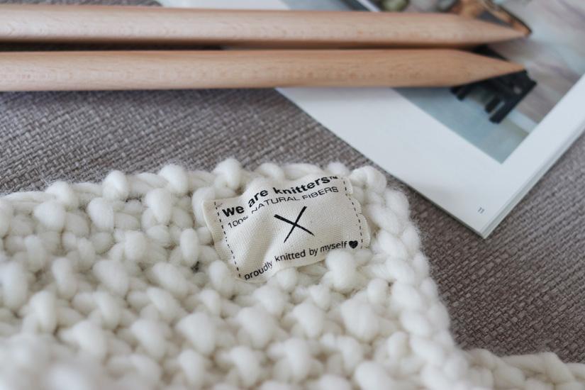 ce que comprend le kit weareknitter udon blancket ilovediy