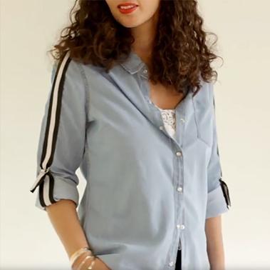 DIY : La chemise version Sporty