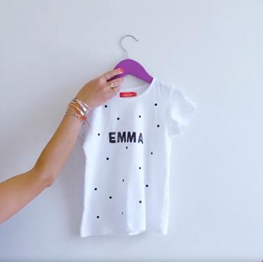 Diy : Le tee-shirt personnalisé