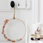 DIY : La couronne de Noël cuivrée