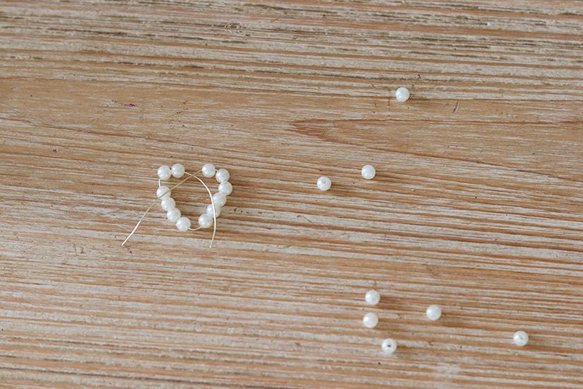peti coeur perles