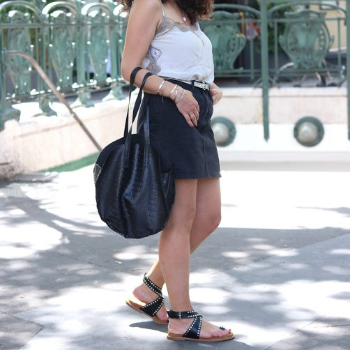 DIY : Le sac rond Sezane Like