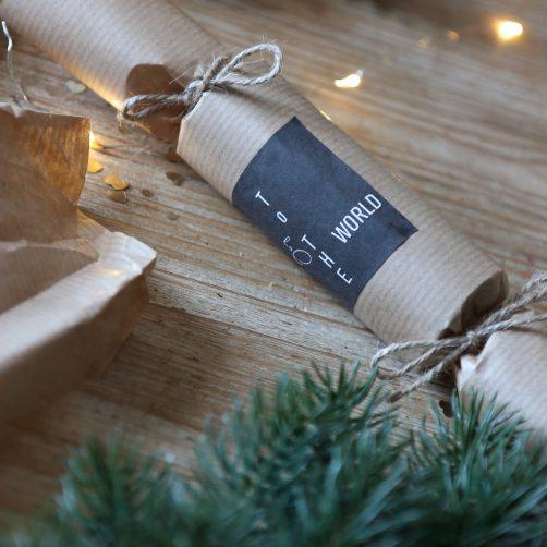 DIY : Les crackers de Noël