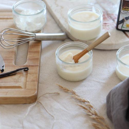 Recette : Danette à la vanille