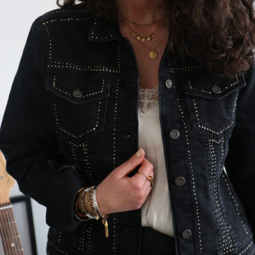 DIY : La veste en jeans rock