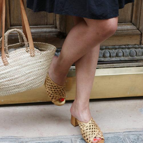 DIY : les sandales dorées
