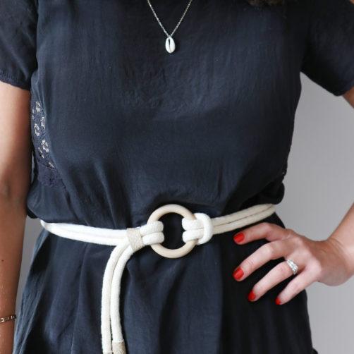 DIY : la ceinture en corde