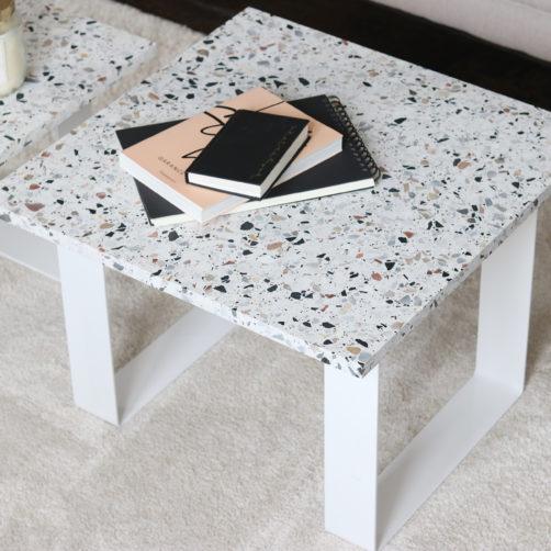 DIY : La table en terrazzo