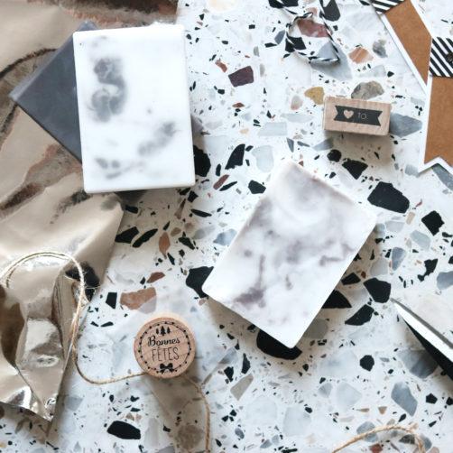 DIY : Les savons marbre